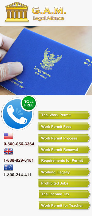 Thai Work permit